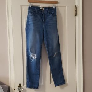 High rise skinny jean by madewell